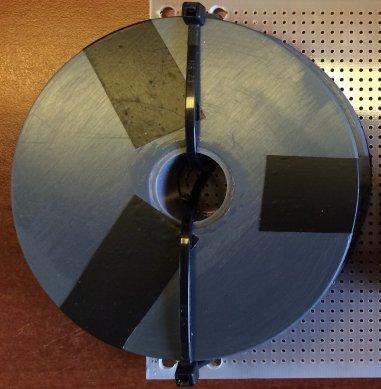 Door Knaap Sound Engineering gefabriceerde luchtspoel
